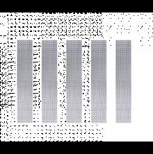 5 x IMIST Simurg Meshstreifen 100 NiCr80/20 MTL