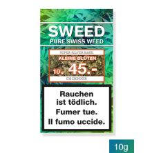 SWEED Silver Haze CBD Hanf Blüten 10g (kleine Blüten)