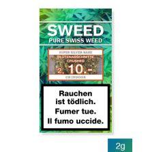 SWEED Silver Haze CBD Blütenabschnitte Crushed 2g