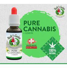 Merlin's Garden - Pure Cannabis + Lemon Liquid 30ml, ohne CBD